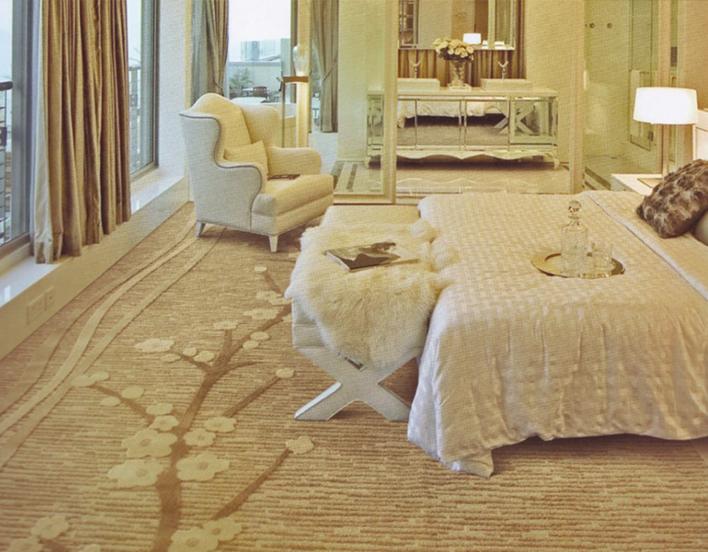 五星级酒店地毯安装