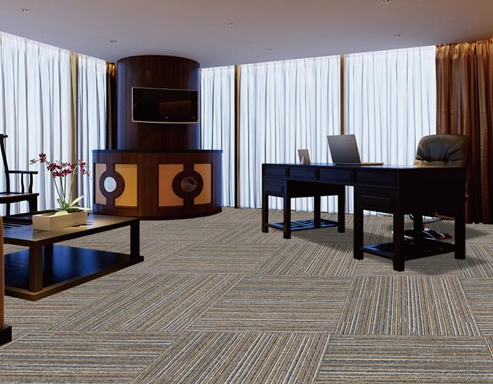 复合底方块地毯