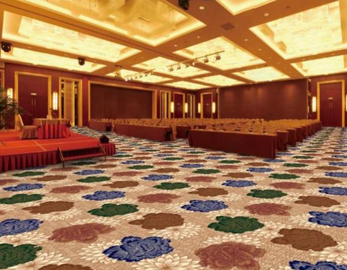 酒店大厅地毯