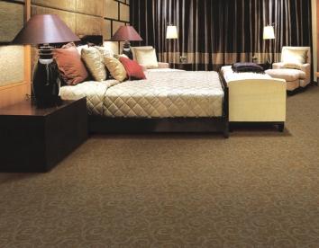 满铺簇绒地毯